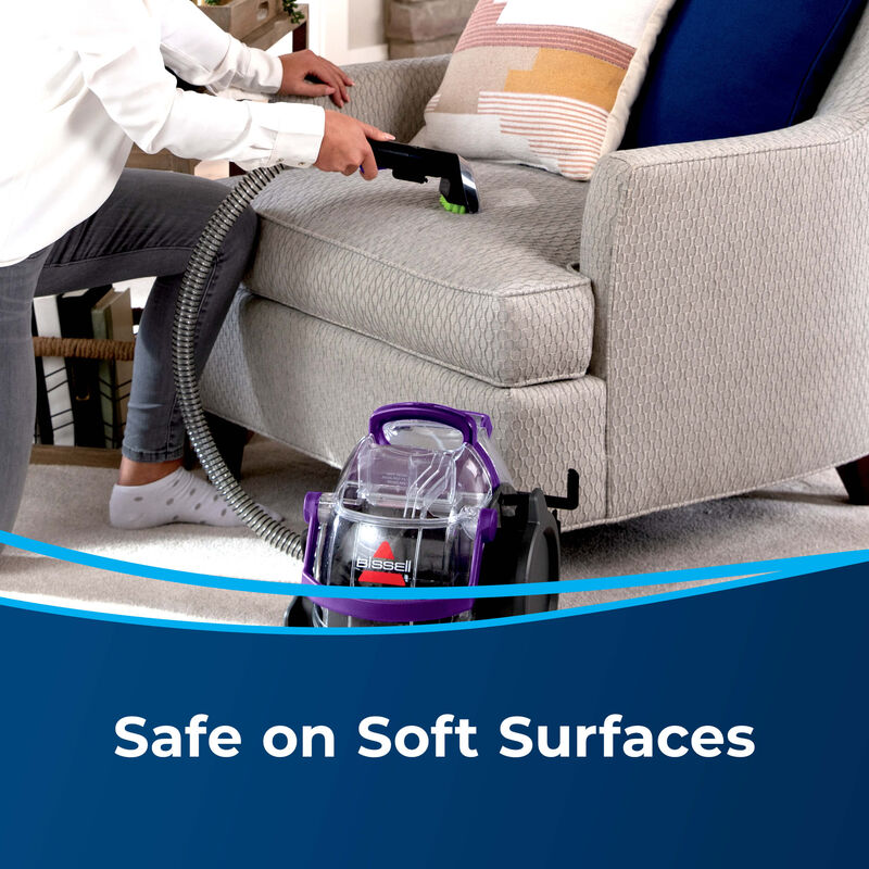 BISSELL SpotClean Pet Pro™ Portable Carpet Cleaner 2458 Soft Surfaces