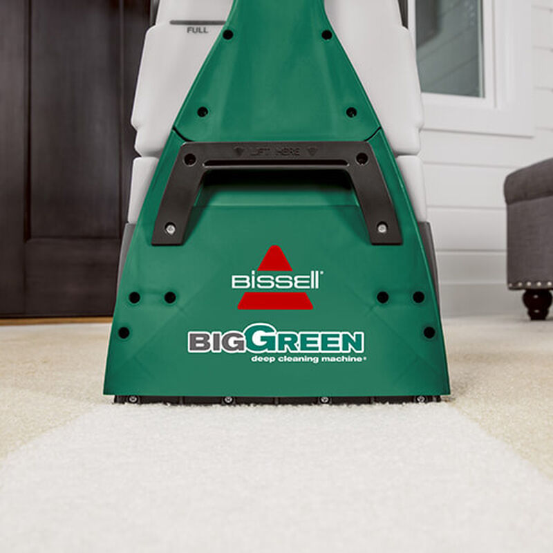 Big Green Machine Professional 86T3 BISSELL Carpet Cleaner Up Close
