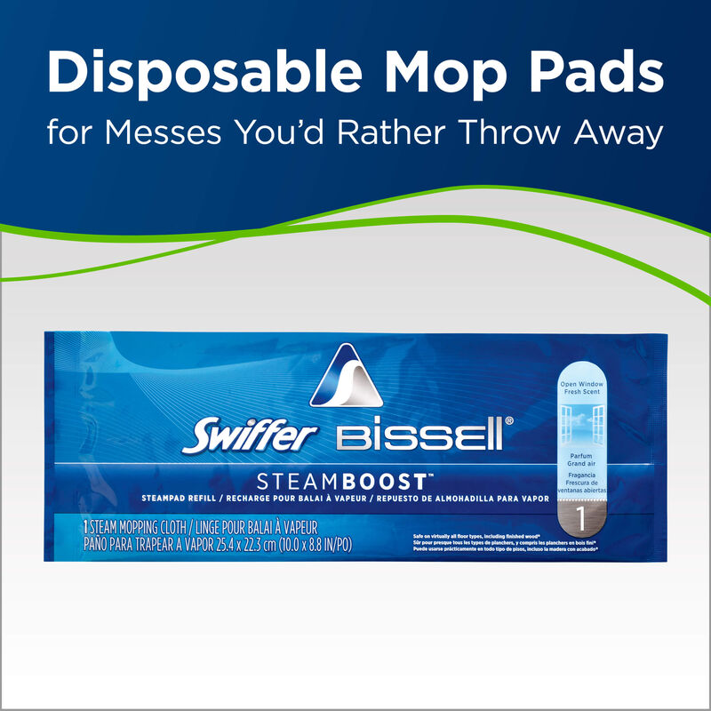 Symphony Pet Swiffer BISSELL STeam Boost Pads