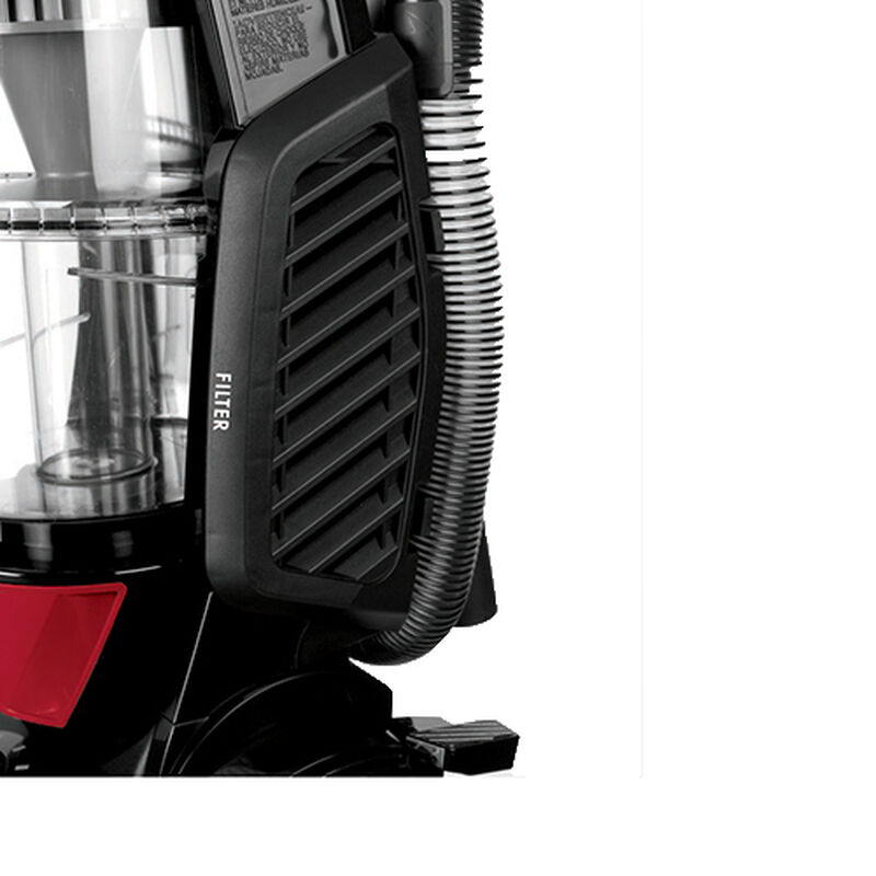 Total Floors Upright Vacuum Filter Location