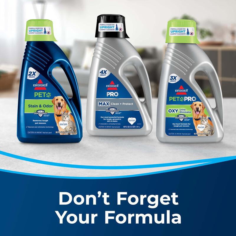 BISSELL TurboClean PowerBrush Pet Carpet Cleaner 2987 Formula