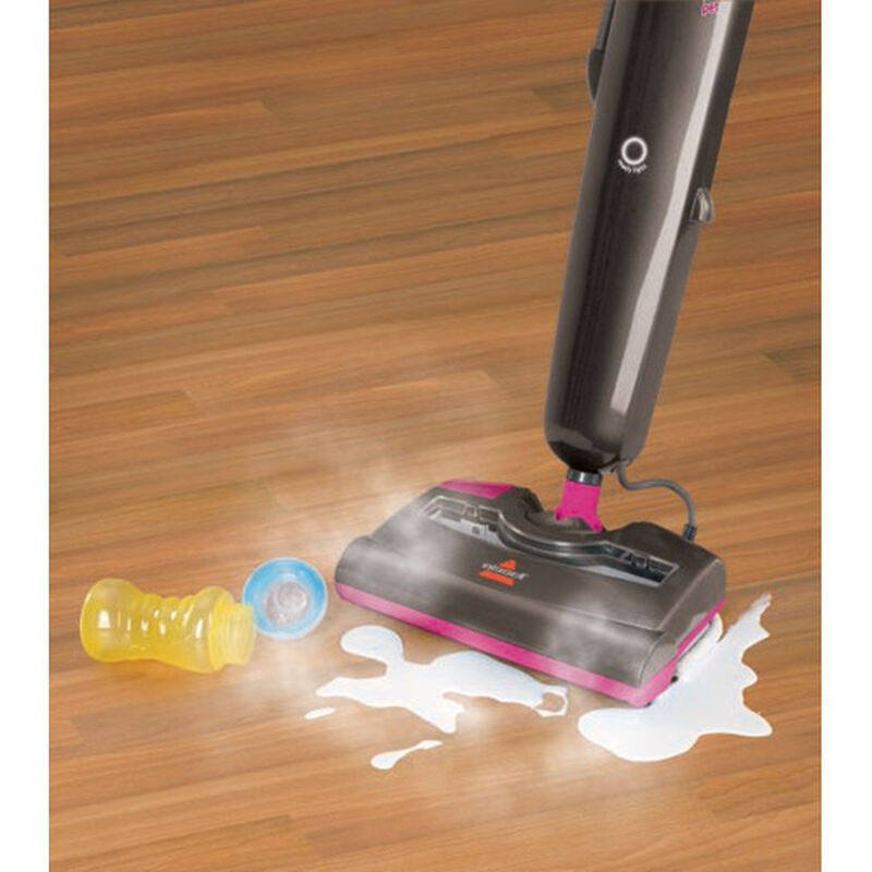 Steam and Sweep Pet Steam Mop 46B43 wood floors
