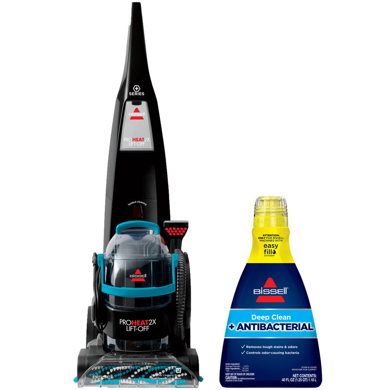 BISSELL Lift Off Deep Cleaner Antibacterial Formula Upright Carpet Cleaning B0161