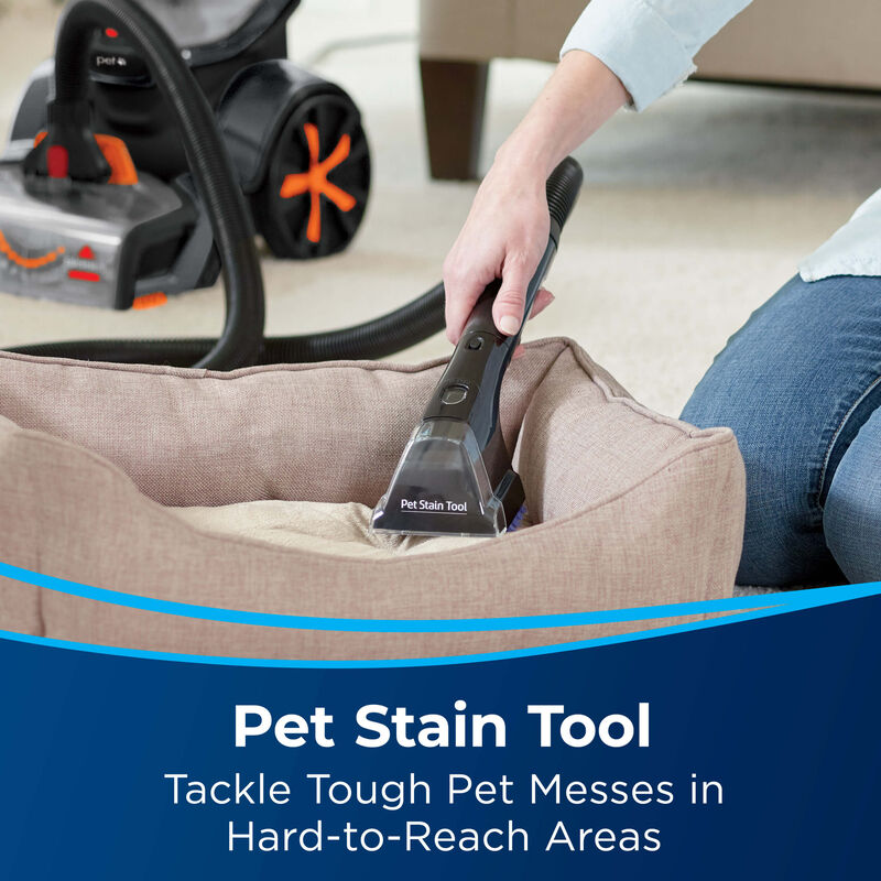 BISSELL ProHeat 2X® Revolution® Pet Carpet Cleaner 1548 Pet Stain Tool