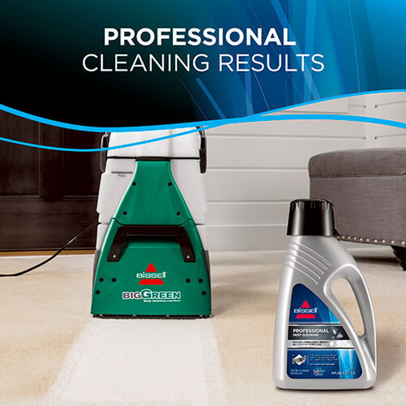 Big Green Machine Professional 86T3 BISSELL Carpet Cleaner Results