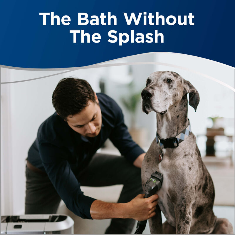 BISSELL BARKBATH Dual Use 2592 Dog Grooming System No Splash