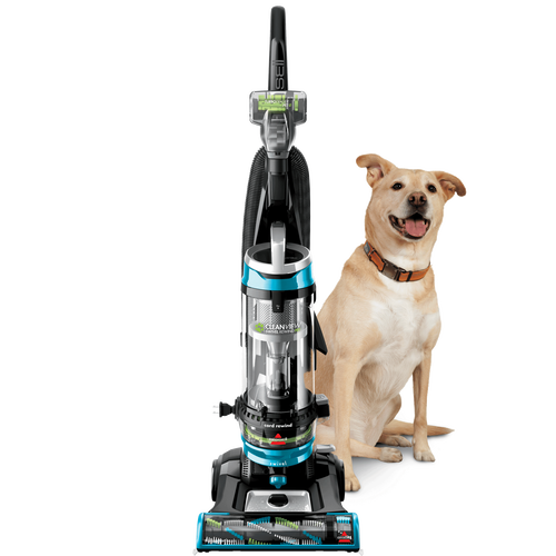 Bissell Cleanview Swivel Rewind Pet Upright Bagless Vacuum, Teal