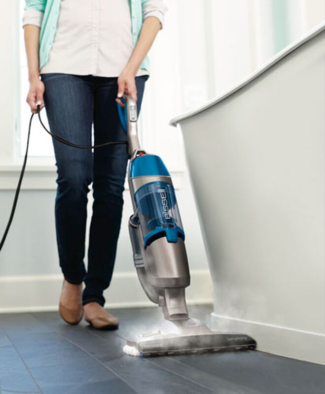 Symphony Vacuum and Steam Mop 1132P hard floor steaming