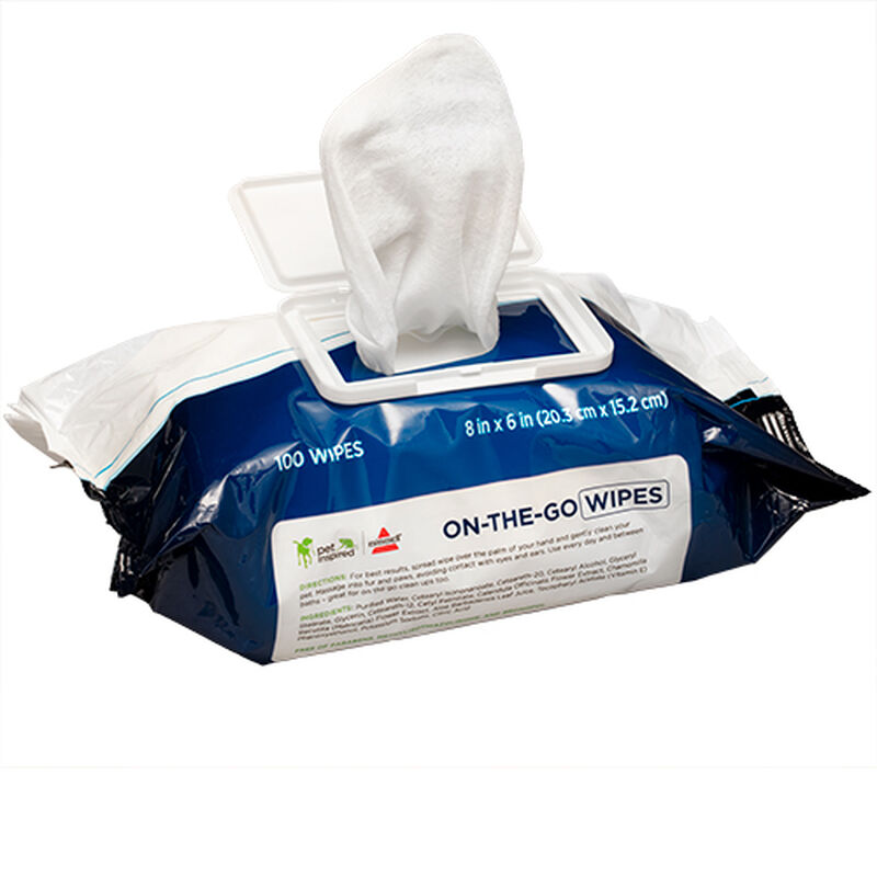 Cat Dog Wipes 2687 BISSELL Pet Grooming Out