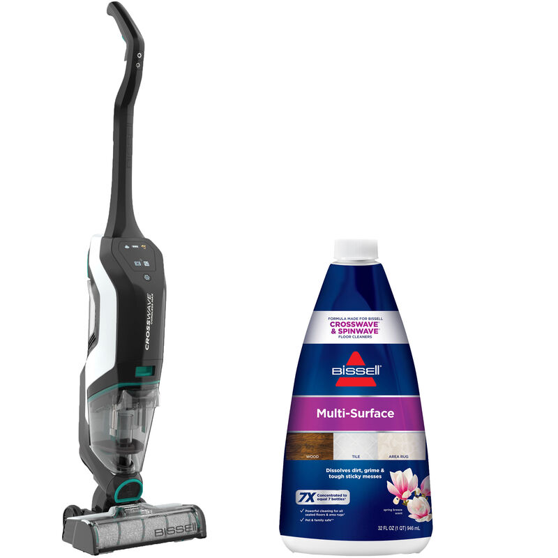 BISSELL CrossWave Cordless Max Multi Surface Formula Bundle B0167