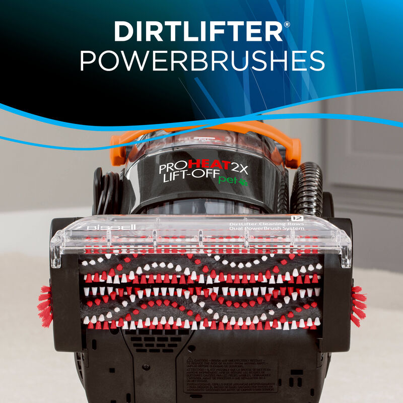 Proheat 2X Lift-Off Dirtlifter Powerbrushes
