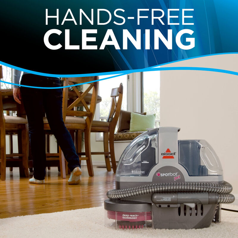 SpotBot Pet Portable Carpet Cleaner Hands-Free Cleaning