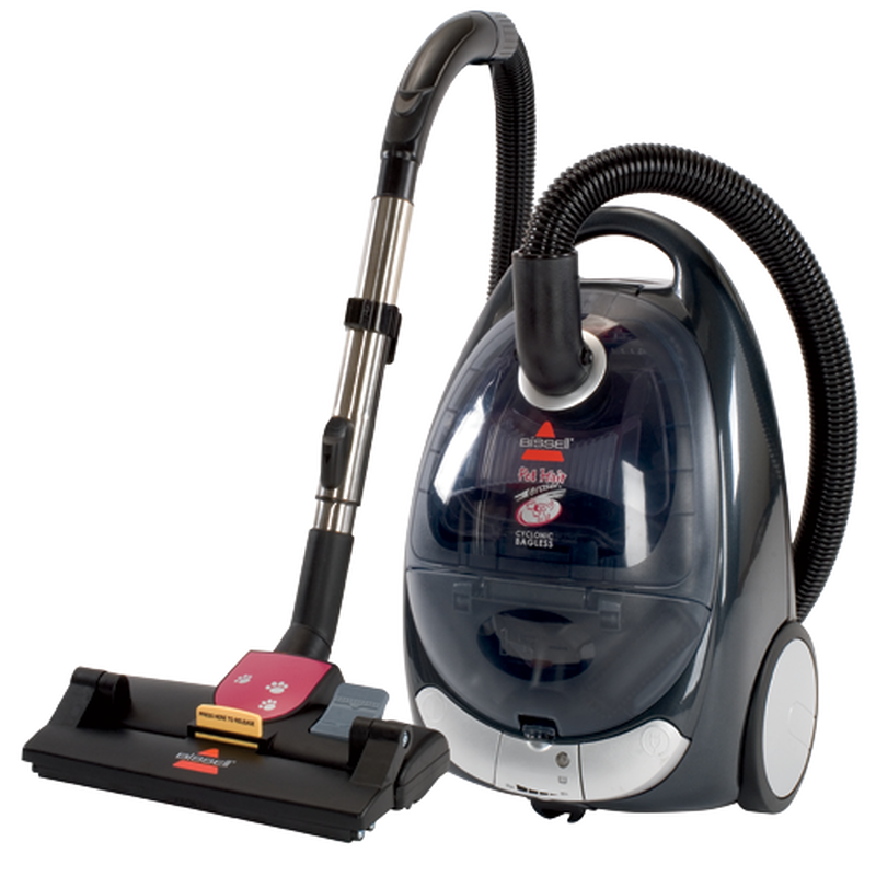 Pet Hair Eraser Cyclonic Canister Vacuum 66T6