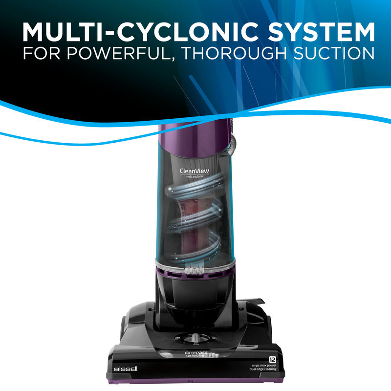 BISSELL Cleanview OnePass Vacuum Multicyclonic Suction Vacuums