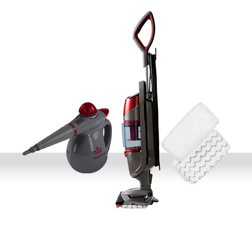 Symphony All In One Vacuum And Steam Mop Bundle Bissell